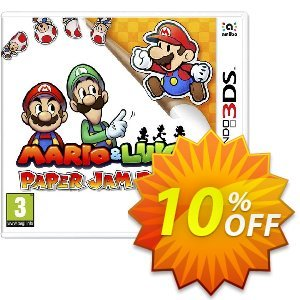 Mario and Luigi: Paper Jam Bros. 3DS - Game Code Coupon, discount Mario and Luigi: Paper Jam Bros. 3DS - Game Code Deal. Promotion: Mario and Luigi: Paper Jam Bros. 3DS - Game Code Exclusive Easter Sale offer for iVoicesoft