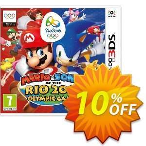 Mario and Sonic at the Rio 2016 Olympic Games 3DS - Game Code discount coupon Mario and Sonic at the Rio 2016 Olympic Games 3DS - Game Code Deal - Mario and Sonic at the Rio 2016 Olympic Games 3DS - Game Code Exclusive Easter Sale offer for iVoicesoft