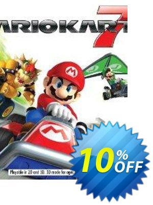 Mario Kart 7 3DS USA - Game Code discount coupon Mario Kart 7 3DS USA - Game Code Deal - Mario Kart 7 3DS USA - Game Code Exclusive Easter Sale offer for iVoicesoft