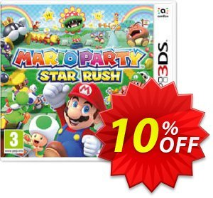 Mario Party Star Rush 3DS - Game Code discount coupon Mario Party Star Rush 3DS - Game Code Deal - Mario Party Star Rush 3DS - Game Code Exclusive Easter Sale offer for iVoicesoft