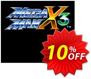 Mega Man X3 3DS - Game Code (ENG) discount coupon Mega Man X3 3DS - Game Code (ENG) Deal - Mega Man X3 3DS - Game Code (ENG) Exclusive Easter Sale offer for iVoicesoft