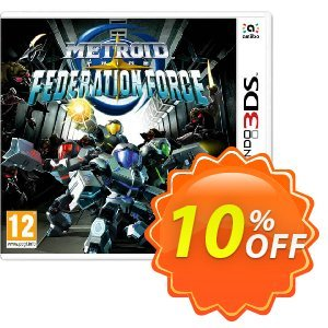 Metroid Prime Federation Force 3DS - Game Code discount coupon Metroid Prime Federation Force 3DS - Game Code Deal - Metroid Prime Federation Force 3DS - Game Code Exclusive Easter Sale offer for iVoicesoft