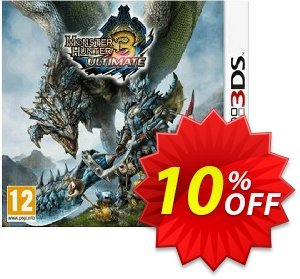 Monster Hunter 3 Ultimate 3DS - Game Code Coupon discount Monster Hunter 3 Ultimate 3DS - Game Code Deal. Promotion: Monster Hunter 3 Ultimate 3DS - Game Code Exclusive Easter Sale offer for iVoicesoft