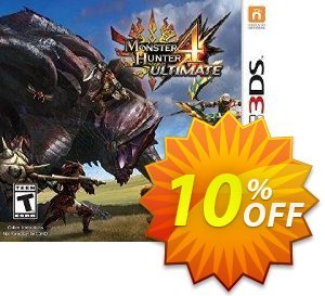 Monster Hunter 4 Ultimate 3DS - Game Code discount coupon Monster Hunter 4 Ultimate 3DS - Game Code Deal - Monster Hunter 4 Ultimate 3DS - Game Code Exclusive Easter Sale offer for iVoicesoft