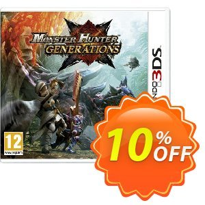 Monster Hunter Generations 3DS - Game Code discount coupon Monster Hunter Generations 3DS - Game Code Deal - Monster Hunter Generations 3DS - Game Code Exclusive Easter Sale offer for iVoicesoft