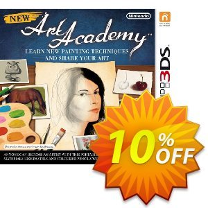 New Art Academy 3DS - Game Code Coupon discount New Art Academy 3DS - Game Code Deal. Promotion: New Art Academy 3DS - Game Code Exclusive Easter Sale offer for iVoicesoft