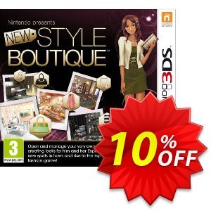 New Style Boutique 3DS - Game Code discount coupon New Style Boutique 3DS - Game Code Deal - New Style Boutique 3DS - Game Code Exclusive Easter Sale offer for iVoicesoft
