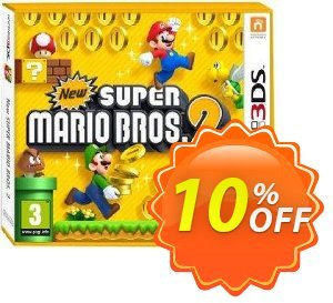 New Super Mario Bros: 2 3DS - Game Code discount coupon New Super Mario Bros: 2 3DS - Game Code Deal - New Super Mario Bros: 2 3DS - Game Code Exclusive Easter Sale offer for iVoicesoft