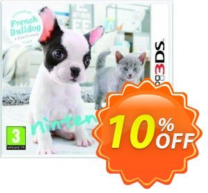 Nintendogs + Cats: French Bulldog & New Friends 3DS - Game Code discount coupon Nintendogs + Cats: French Bulldog & New Friends 3DS - Game Code Deal - Nintendogs + Cats: French Bulldog & New Friends 3DS - Game Code Exclusive Easter Sale offer for iVoicesoft