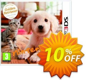 Nintendogs + Cats - Golden Retriever + New Friends 3DS - Game Code discount coupon Nintendogs + Cats - Golden Retriever + New Friends 3DS - Game Code Deal - Nintendogs + Cats - Golden Retriever + New Friends 3DS - Game Code Exclusive Easter Sale offer for iVoicesoft