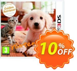 Nintendogs + Cats - Golden Retriever + New Friends 3DS - Game Code 프로모션 코드 Nintendogs + Cats - Golden Retriever + New Friends 3DS - Game Code Deal 프로모션: Nintendogs + Cats - Golden Retriever + New Friends 3DS - Game Code Exclusive Easter Sale offer for iVoicesoft