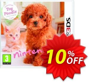 Nintendogs + Cats - Toy Poodle + New Friends 3DS - Game Code discount coupon Nintendogs + Cats - Toy Poodle + New Friends 3DS - Game Code Deal - Nintendogs + Cats - Toy Poodle + New Friends 3DS - Game Code Exclusive Easter Sale offer for iVoicesoft