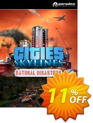 Cities: Skylines Natural Disasters PC Coupon, discount Cities: Skylines Natural Disasters PC Deal. Promotion: Cities: Skylines Natural Disasters PC Exclusive offer for iVoicesoft