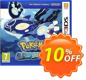Pokémon Alpha Sapphire 3DS - Game Code 프로모션 코드 Pokémon Alpha Sapphire 3DS - Game Code Deal 프로모션: Pokémon Alpha Sapphire 3DS - Game Code Exclusive Easter Sale offer for iVoicesoft