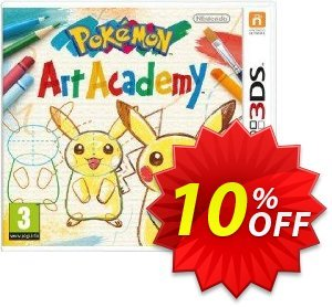 Pokémon Art Academy 3DS - Game Code Coupon, discount Pokémon Art Academy 3DS - Game Code Deal. Promotion: Pokémon Art Academy 3DS - Game Code Exclusive Easter Sale offer for iVoicesoft