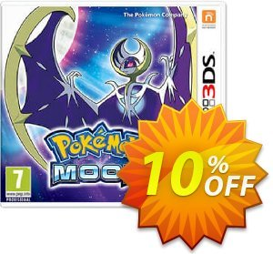 Pokemon Moon 3DS - Game Code 프로모션 코드 Pokemon Moon 3DS - Game Code Deal 프로모션: Pokemon Moon 3DS - Game Code Exclusive Easter Sale offer for iVoicesoft