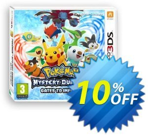 Pokemon Mystery Dungeon: Gates to Infinity 3DS - Game Code discount coupon Pokemon Mystery Dungeon: Gates to Infinity 3DS - Game Code Deal - Pokemon Mystery Dungeon: Gates to Infinity 3DS - Game Code Exclusive Easter Sale offer for iVoicesoft