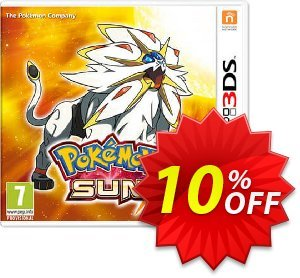 Pokemon Sun 3DS - Game Code discount coupon Pokemon Sun 3DS - Game Code Deal - Pokemon Sun 3DS - Game Code Exclusive Easter Sale offer for iVoicesoft