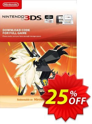 Pokemon Ultra Sun 3DS discount coupon Pokemon Ultra Sun 3DS Deal - Pokemon Ultra Sun 3DS Exclusive Easter Sale offer for iVoicesoft
