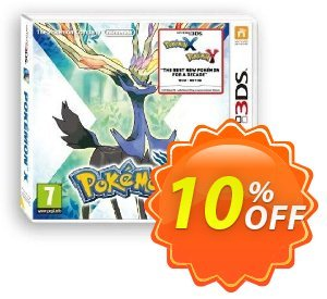 Pokémon X 3DS - Game Code discount coupon Pokémon X 3DS - Game Code Deal - Pokémon X 3DS - Game Code Exclusive Easter Sale offer for iVoicesoft