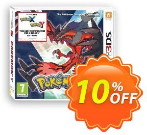 Pokémon Y 3DS - Game Code Coupon, discount Pokémon Y 3DS - Game Code Deal. Promotion: Pokémon Y 3DS - Game Code Exclusive Easter Sale offer for iVoicesoft