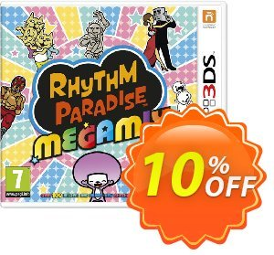 Rhythm Paradise Megamix 3DS - Game Code discount coupon Rhythm Paradise Megamix 3DS - Game Code Deal - Rhythm Paradise Megamix 3DS - Game Code Exclusive Easter Sale offer for iVoicesoft