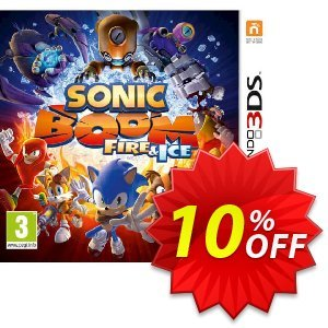 Sonic Boom: Fire and Ice 3DS - Game Code discount coupon Sonic Boom: Fire and Ice 3DS - Game Code Deal - Sonic Boom: Fire and Ice 3DS - Game Code Exclusive Easter Sale offer for iVoicesoft