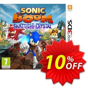 Sonic Boom Shattered Crystal 3DS - Game Code discount coupon Sonic Boom Shattered Crystal 3DS - Game Code Deal - Sonic Boom Shattered Crystal 3DS - Game Code Exclusive Easter Sale offer for iVoicesoft