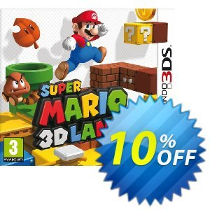 Super Mario 3D Land 3DS - Game Code 프로모션 코드 Super Mario 3D Land 3DS - Game Code Deal 프로모션: Super Mario 3D Land 3DS - Game Code Exclusive Easter Sale offer for iVoicesoft