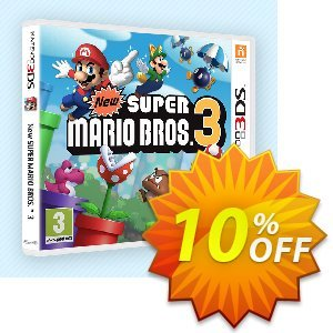 Super Mario Bros. 3 3DS - Game Code (ENG) discount coupon Super Mario Bros. 3 3DS - Game Code (ENG) Deal - Super Mario Bros. 3 3DS - Game Code (ENG) Exclusive Easter Sale offer for iVoicesoft