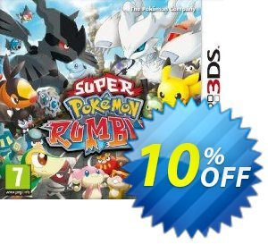 Super Pokémon Rumble 3DS - Game Code Coupon, discount Super Pokémon Rumble 3DS - Game Code Deal. Promotion: Super Pokémon Rumble 3DS - Game Code Exclusive Easter Sale offer for iVoicesoft