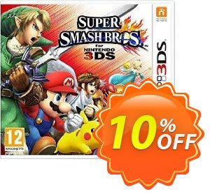 Super Smash Bros. 3DS discount coupon Super Smash Bros. 3DS Deal - Super Smash Bros. 3DS Exclusive Easter Sale offer for iVoicesoft