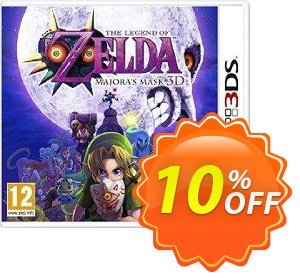 The Legend of Zelda: Majora's Mask 3D 3DS - Game Code discount coupon The Legend of Zelda: Majora's Mask 3D 3DS - Game Code Deal - The Legend of Zelda: Majora's Mask 3D 3DS - Game Code Exclusive Easter Sale offer for iVoicesoft