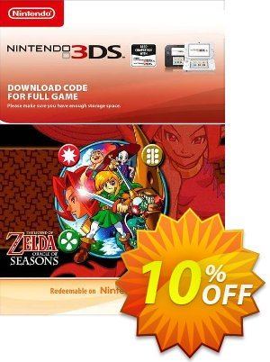 The Legend of Zelda: Oracle of Seasons 3DS discount coupon The Legend of Zelda: Oracle of Seasons 3DS Deal - The Legend of Zelda: Oracle of Seasons 3DS Exclusive Easter Sale offer for iVoicesoft
