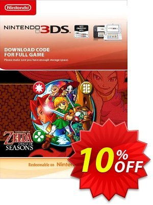 The Legend of Zelda: Oracle of Seasons 3DS Coupon, discount The Legend of Zelda: Oracle of Seasons 3DS Deal. Promotion: The Legend of Zelda: Oracle of Seasons 3DS Exclusive Easter Sale offer for iVoicesoft