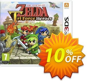 The Legend Of Zelda Tri Force Heroes 3DS - Game Code discount coupon The Legend Of Zelda Tri Force Heroes 3DS - Game Code Deal - The Legend Of Zelda Tri Force Heroes 3DS - Game Code Exclusive Easter Sale offer for iVoicesoft