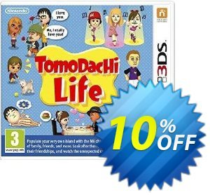 Tomodachi Life 3DS - Game Code Coupon discount Tomodachi Life 3DS - Game Code Deal. Promotion: Tomodachi Life 3DS - Game Code Exclusive Easter Sale offer for iVoicesoft