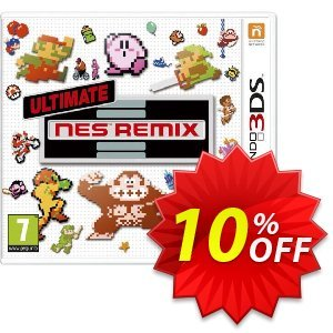 Ultimate NES Remix 3DS - Game Code Coupon discount Ultimate NES Remix 3DS - Game Code Deal. Promotion: Ultimate NES Remix 3DS - Game Code Exclusive Easter Sale offer for iVoicesoft