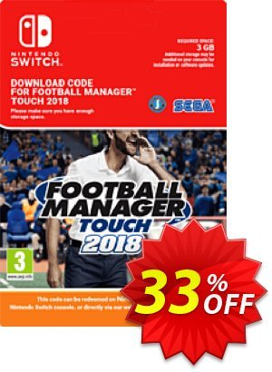 Football Manager (FM) Touch 2018 Switch (EU) 프로모션 코드 Football Manager (FM) Touch 2018 Switch (EU) Deal 프로모션: Football Manager (FM) Touch 2018 Switch (EU) Exclusive Easter Sale offer for iVoicesoft