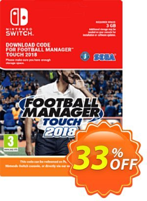 Football Manager (FM) Touch 2018 Switch (EU) discount coupon Football Manager (FM) Touch 2018 Switch (EU) Deal - Football Manager (FM) Touch 2018 Switch (EU) Exclusive Easter Sale offer for iVoicesoft
