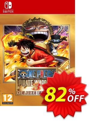 One Piece Pirate Warriors 3 - Deluxe Edition Switch (EU) discount coupon One Piece Pirate Warriors 3 - Deluxe Edition Switch (EU) Deal - One Piece Pirate Warriors 3 - Deluxe Edition Switch (EU) Exclusive Easter Sale offer for iVoicesoft
