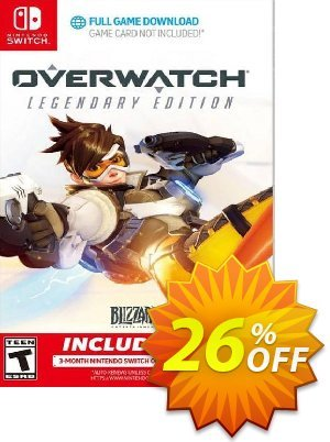Overwatch Legendary Edition + 3 Month Membership Switch (EU) discount coupon Overwatch Legendary Edition + 3 Month Membership Switch (EU) Deal - Overwatch Legendary Edition + 3 Month Membership Switch (EU) Exclusive Easter Sale offer for iVoicesoft