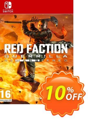 Red Faction Guerrilla Re-Mars-Tered Switch discount coupon Red Faction Guerrilla Re-Mars-Tered Switch Deal - Red Faction Guerrilla Re-Mars-Tered Switch Exclusive Easter Sale offer for iVoicesoft