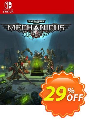 Warhammer 40,000: Mechanicus Switch (EU) discount coupon Warhammer 40,000: Mechanicus Switch (EU) Deal - Warhammer 40,000: Mechanicus Switch (EU) Exclusive Easter Sale offer for iVoicesoft