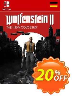Wolfenstein II 2 The New Colossus Switch (Germany) Coupon discount Wolfenstein II 2 The New Colossus Switch (Germany) Deal. Promotion: Wolfenstein II 2 The New Colossus Switch (Germany) Exclusive Easter Sale offer for iVoicesoft