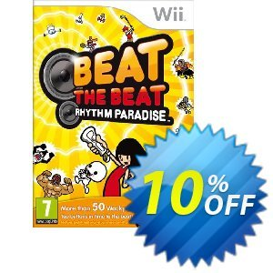 Beat the Beat: Rhythm Paradise Wii U - Game Code discount coupon Beat the Beat: Rhythm Paradise Wii U - Game Code Deal - Beat the Beat: Rhythm Paradise Wii U - Game Code Exclusive Easter Sale offer for iVoicesoft