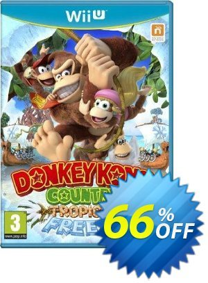 Donkey Kong Country: Tropical Freeze Wii U - Game Code discount coupon Donkey Kong Country: Tropical Freeze Wii U - Game Code Deal - Donkey Kong Country: Tropical Freeze Wii U - Game Code Exclusive Easter Sale offer for iVoicesoft