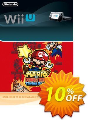 Mario vs. Donkey Kong Tipping Stars Wii U - Game Code discount coupon Mario vs. Donkey Kong Tipping Stars Wii U - Game Code Deal - Mario vs. Donkey Kong Tipping Stars Wii U - Game Code Exclusive Easter Sale offer for iVoicesoft