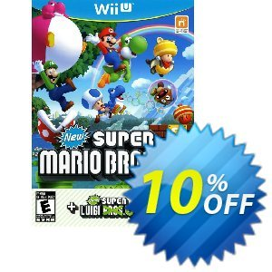 New Super Mario Bros + New Super Luigi Wii U - Game Code discount coupon New Super Mario Bros + New Super Luigi Wii U - Game Code Deal - New Super Mario Bros + New Super Luigi Wii U - Game Code Exclusive Easter Sale offer for iVoicesoft