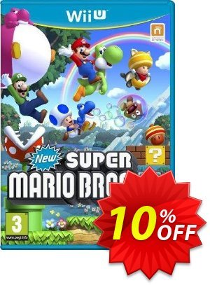New Super Mario Bros U Wii U - Game Code discount coupon New Super Mario Bros U Wii U - Game Code Deal - New Super Mario Bros U Wii U - Game Code Exclusive Easter Sale offer for iVoicesoft